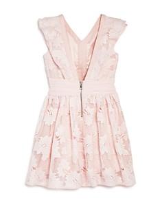 Bardot Junior - Girls' Ruffled Floral Lace Dress - Little Kid