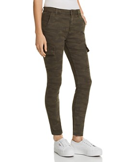 Joe's Jeans - Charlie Ankle Cargo Skinny Jeans in Camo