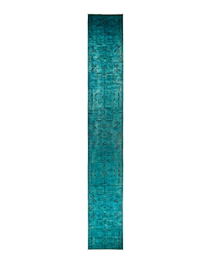Solo Rugs Vibrance 47 Area Rug, 2'5 x 17'8