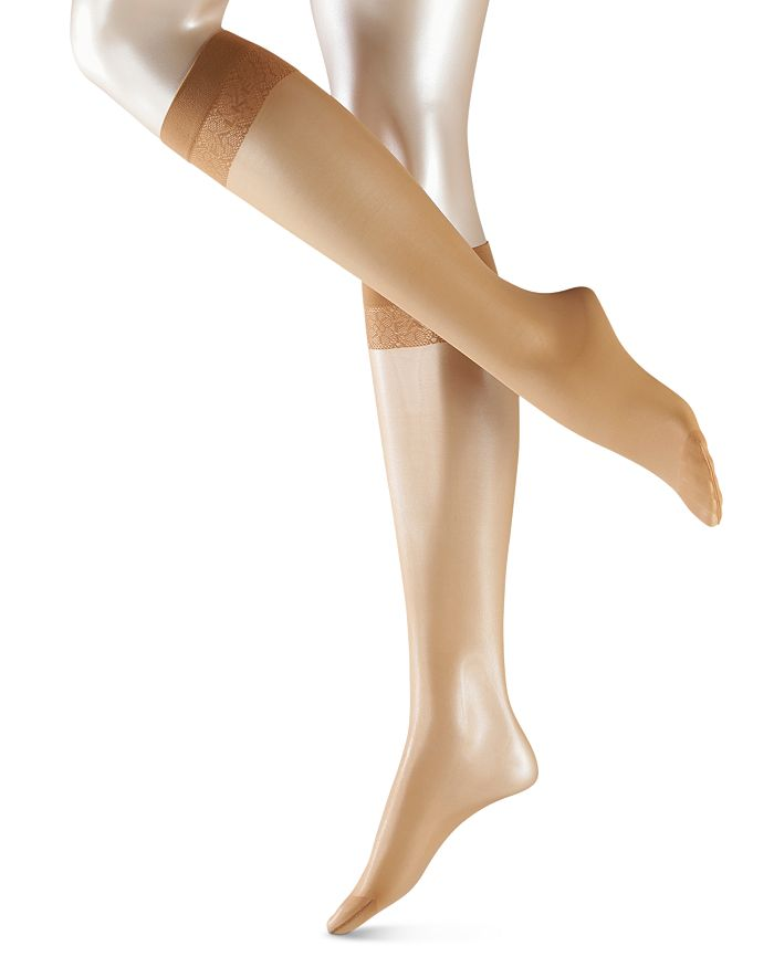 Falke Matt Deluxe 20 Knee High Socks In Powder