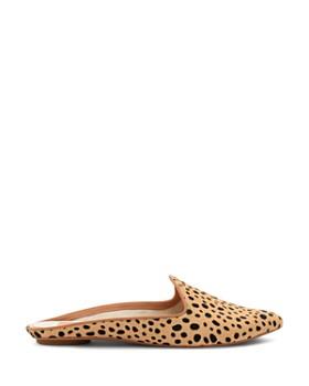 Dolce Vita - Women's Grant Leopard Print Calf Hair Mules