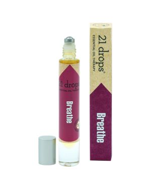 21 DROPS BREATHE ESSENTIAL OIL ROLL-ON