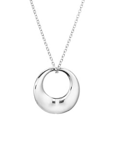 "Bloomingdale's - Loop Pendant Chain Necklace, 16"" - 100% Exclusive"