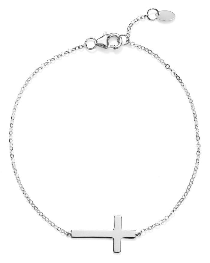 Bloomingdale's Cross Chain Bracelet - 100% Exclusive    Bloomingdale's