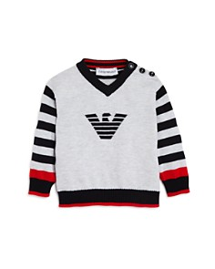 Armani - Boys' Striped Logo Sweater - Baby