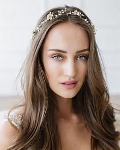 Brides and Hairpins - Atiena Halo Headpiece