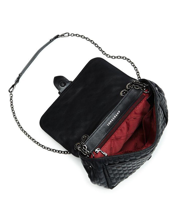 cc7d65142ae3 Longchamp - Amazone Matelass eacute  Small Leather Shoulder Bag