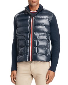 Moncler - Maglione Tricot Down Knit Jacket