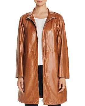 Lafayette 148 New York - Minerva Leather Anorak Jacket