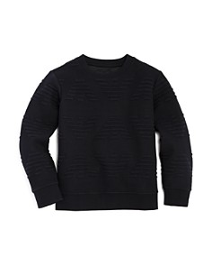Armani Junior - Boys' Raised-Logo Sweater - Little Kid, Big Kid