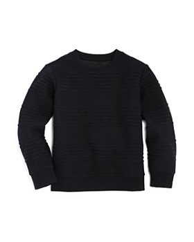fa6154ad6a5 Armani - Boys  Raised-Logo Sweater - Little Kid