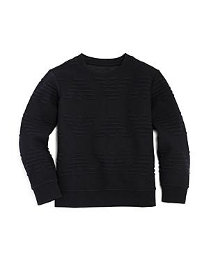 Armani Junior Boys' Raised-Logo Sweater - Little Kid, Big Kid