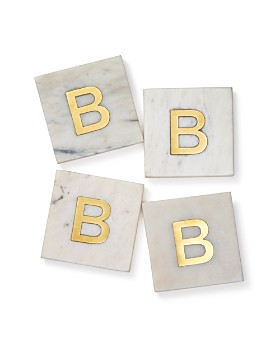 Be Home - Marble Coasters, Set of 4