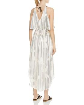 HALSTON HERITAGE - Printed Maxi Dress