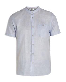 Ted Baker - Selday Granddad Regular Fit Button-Down Shirt