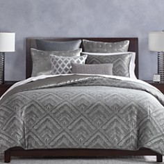 Hudson Park Collection Woven Diamond Bedding Collection - 100% Exclusive - Bloomingdale's_0
