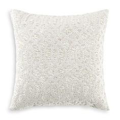 "Hudson Park Collection Seed Stitch Trellis Decorative Pillow, 18"" x 18"" - 100% Exclusive - Bloomingdale's_0"