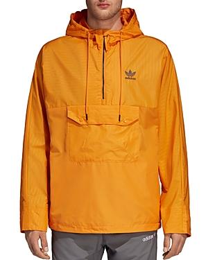 adidas Originals Pinstripe Pullover Windbreaker Jacket