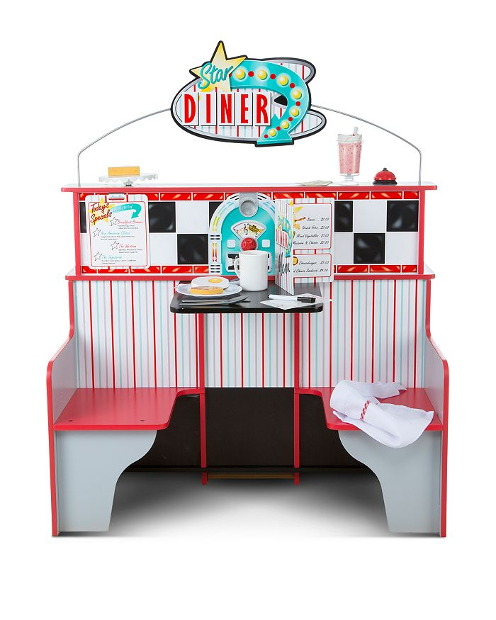 Star Diner Restaurant & Play Set Accessories Bundle - Ages 3+