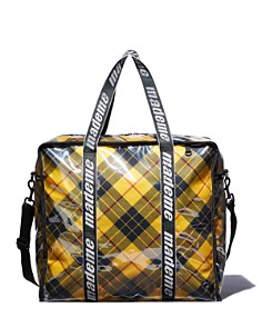 LeSportsac - x Made Me Large Plaid Fabric Shopper Tote