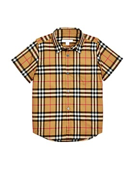 Burberry - Boys' Fred Vintage Check Shirt - Little Kid, Big Kid