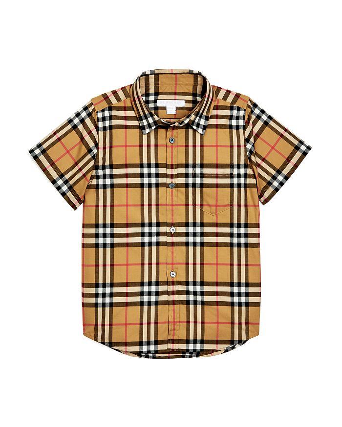 Burberry - Boys' Fred Vintage Check Shirt - Little Kid, Big Kid