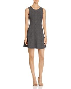 Vero Moda - Dot Fit-and-Flare Dress