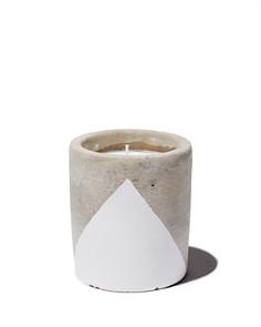 Paddywax - Urban Concrete Pot White Tobacco & Patchouli Candle