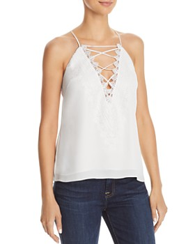 WAYF - Posie Lace-Up Camisole