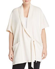 Eileen Fisher Plus - Wrap Sweater Jacket