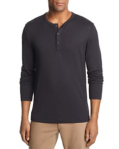 Theory Long-Sleeve Henley - Bloomingdale's_0