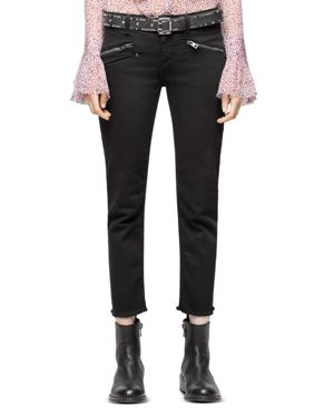 Zadig & Voltaire Ava Slim Jeans in Black