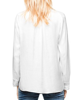 Zadig & Voltaire - Tink Satin Tunic Top