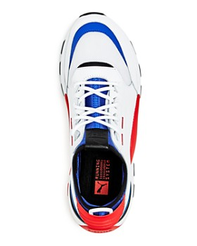 PUMA - Men's RS-0 Color-Block Leather Lace-Up Sneakers