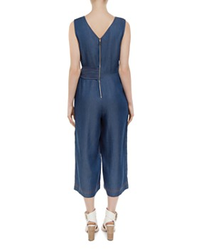 Ted Baker - Colour By Numbers Pipere Chambray Jumpsuit