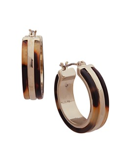 Ralph Lauren - Tortoise Hoop Earrings