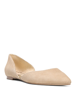 Sam Edelman Flats WOMEN'S RODNEY FLORAL-EMBROIDERED D'ORSAY FLATS