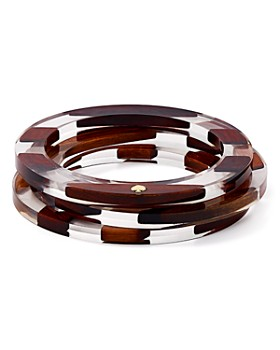 kate spade new york - Two-Tone Bangle Bracelets