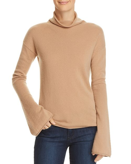 Theory - Bell-Sleeve Cashmere Sweater