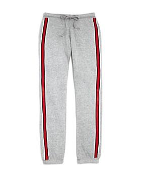 So Nikki... - Girls' Athletic-Stripe Fleece Sweatpants - Big Kid
