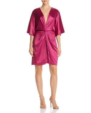 LAUNDRY BY SHELLI SEGAL TWIST FRONT DRESS