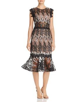 BRONX AND BANCO - Dalia Illusion Lace Dress