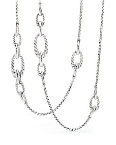 David Yurman - Pure Form Chain Station Necklace