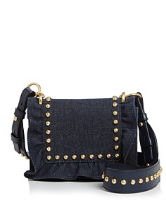 kate spade new york - White Rock Road Jamie Small Studded Denim Crossbody