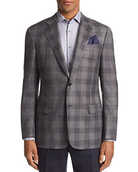 Emporio Armani - G-Line Plaid Tailored Fit Jacket