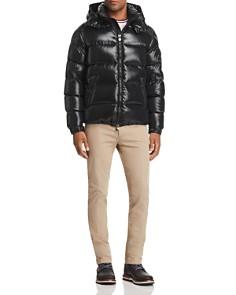 Moncler - Maya Short Jacket, Flag Ringer Tee & Skinny Fit Pants