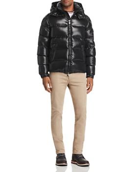 Moncler - Maya Short Jacket, Flag Ringer Tee & Skinny Fit Pants ...