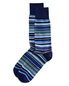 Paul Smith - Multicolored Stripe Socks