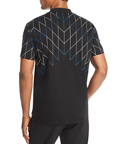 BLACKBARRETT by Neil Barrett - Football Net-Print Tee