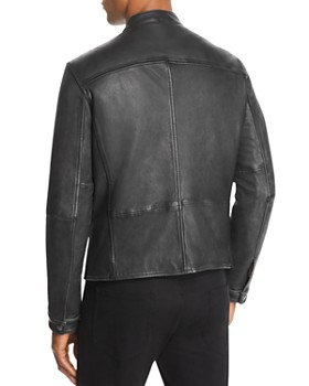 John Varvatos Star USA - Zip-Front Leather Jacket - 100% Exclusive